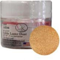 Edible Luster Dust Warm Caramel