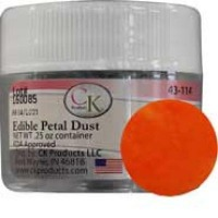 Edible Petal Dust Sunset Orange