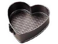 """EE 4"""" Heart Springform Pan"""