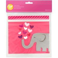 Elephant Resealable Bag 20CT