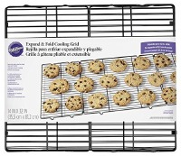 Expand and Fold Cooling Rack