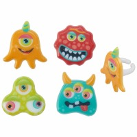 Eyeball Monster Rings 12CT
