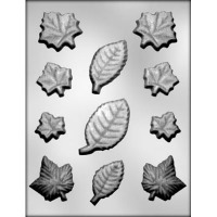 Fall Leaf Assortment Mold (11)