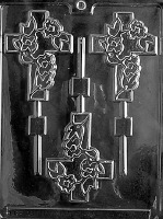 Fancy Cross Lolly Mold