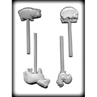 Farm Animals Hand Candy Mold (4)