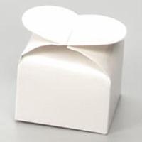 Favor Box White Heart 12 CT