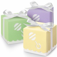 Favor Boxes Assorted Rattle