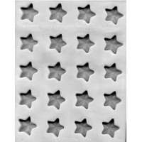 "Flex Mold 1-1/8"" Star (20)"