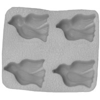 "Flex Mold 1-5/8"" Doves (4)"