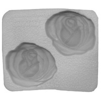 "Flex Mold 2"" Large Rose (2)"