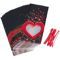 Floating Hearts Treat Bags 20