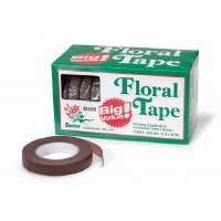 "Floral Tape 1/2"" X 30' YD Brown 12"