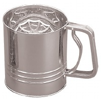 Flour Sifter SS 4 Cup Trigger