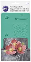 Flower Impression Mat Set 2PC