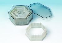 Fluted Hexagon 9PC Cutter Set