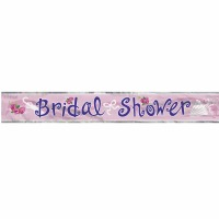 Foil Banner Bridal Shower