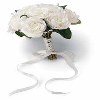 French Rose Bouquet - Natural