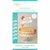 Geometric Cake Deco Kit