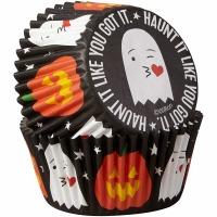 Ghost/Pumpkin Bake Cup 75 CT