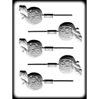 Ghost & Pumpkin Hard Candy Mold (5)
