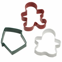 Gingerbread 3-PC  Cutter Set