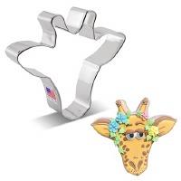 Giraffe Face Cookie Cutter