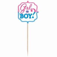 Girl or Boy? Cupcake Pic