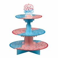 Girl or Boy Cupcake Stand