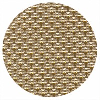Cake Ribbon Dots Gold/Silver
