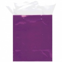 Glossy Medium Bag - Purple