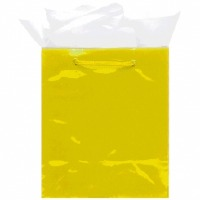 Glossy Medium Bag - Yellow