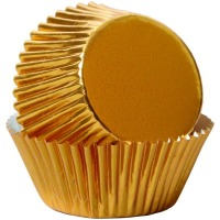 Gold Foil Baking Cups 24 CT