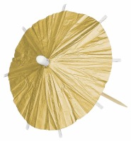 Gold Parasol Picks 120 CT