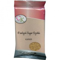 Gold Pearlized Crystal 16OZ