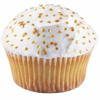 Gold Stars Edible Glitter