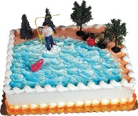 Gone Fishing Cake Kit