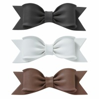 Gum Paste Bow Cake Topper Brown