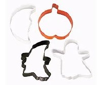 Halloween 4-PC Cookie Cutters
