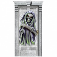 Halloween Gore Door Cover