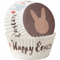 Happy Easter Baking Cup 75