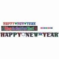 Happy New Years Banner Kit