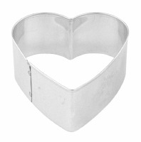 "Heart 2"" Cookie Cutter"