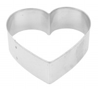 "Heart 3"" Cookie Cutter"