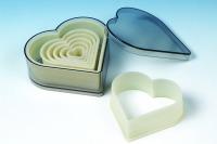 Heart 7PC Cutter Set