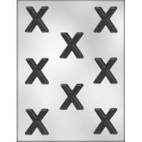 """X"" Kisses Candy Mold (8)"