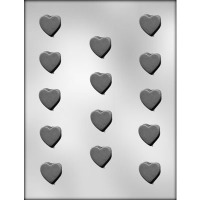 "1-1/4"" Heart Mint (14) Candy Mold"
