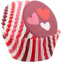 Hearts Baking Cup