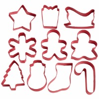 Holiday Cutter 10PC Tube