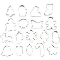 Holiday Metal 18 PC Metal Set