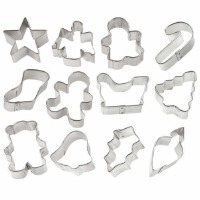 Holiday Mini 12 PC Metal Set